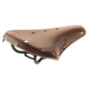 Brooks B17 Short AGED Leather Women Saddle - Brown
