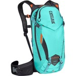 Camelbak Kudu Protector 10 MTB Backpack Without Water Bag - Turquoise/Orange