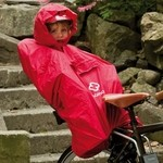 Hamax Poncho baby seat - Red