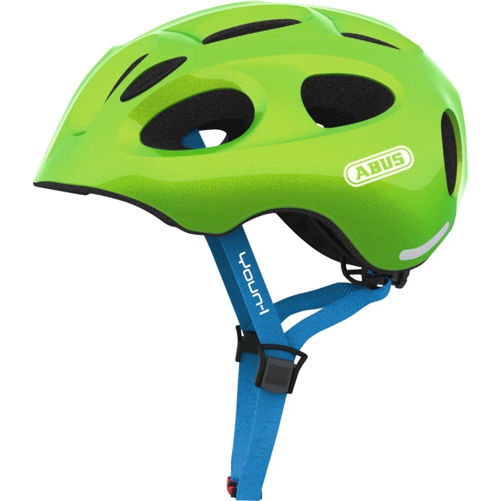 Abus Youn-I Helmet Sparkiling green