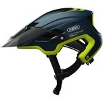 Abus Montrailer MIPS Helmet Midnight blue and Green
