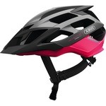 Abus Moventor Helmet Fuchsia pink and Black