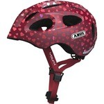 Abus Youn-I Helmet Pink with hearts