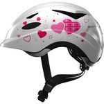 Abus Anuky Helmet White with hearts