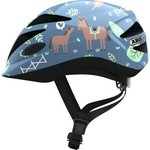 Abus Anuky Helmet Blue with horses