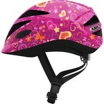 Abus Anuky Helmet Purple with flowers