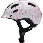 Abus Smiley 2.1 Helmet White and Pink