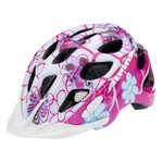 Alpina Rocky Kids Bike Helmet - Pink Flowers