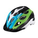 Alpina Rocky Kids Bike Helmet - Black/Blue/Green