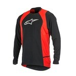 Alpinestars Drop 2 MTB Long Sleeves Jersey - Black/Red