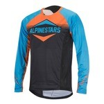 Alpinestars Mesa MTB Long Sleeves Jersey - Blue/Orange