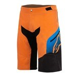 Alpinestars Predator MTB Short - Orange/Blue