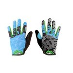 Answer Clash MTB Gloves - Blue/Green
