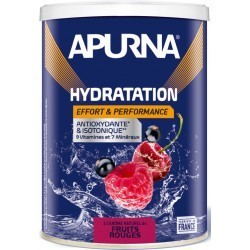 Apurna Hydratation Energy Drink Red Fruits - Pot 500g