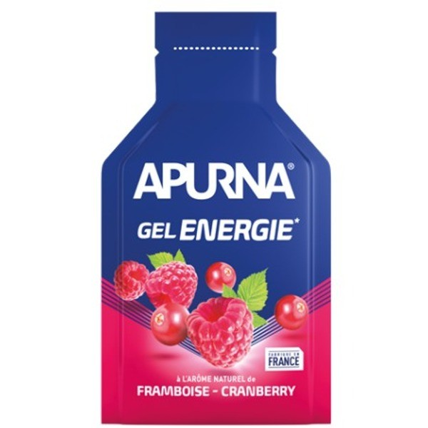 Apurna Liquid Energy Gel -2h of effort Raspberry Cranberry - 35g