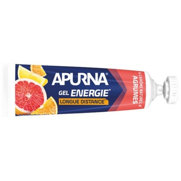 Apurna Liquid Energy Gel Long Distance Citrus - 35g