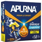Apurna Liquid Energy Gel Pack Lemon - Etui 5x35g