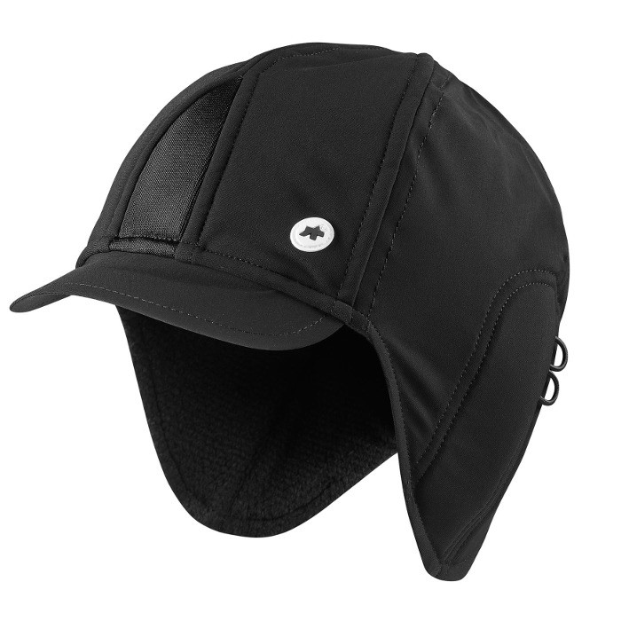 Assos FuguHelm Winter Cap - Black