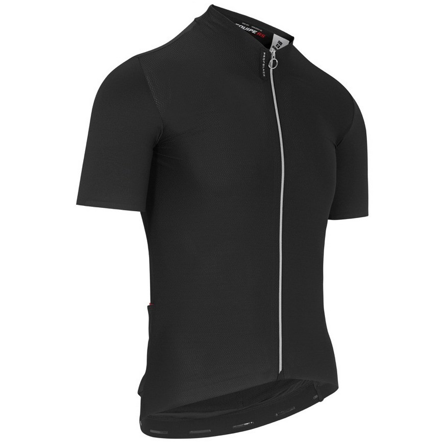Assos Equipe RS Aero Short Sleeve Jersey - Deep Black