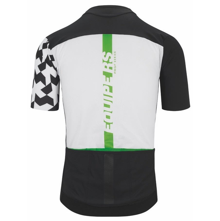 Assos Equipe RS Aero Short Sleeve Jersey - Data Green