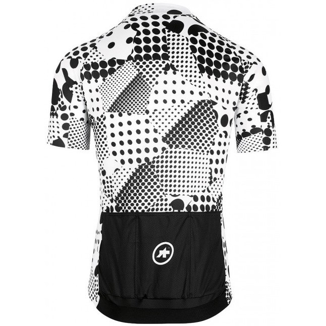 Assos Erlkoenig Short Sleeve Jersey - White-Black