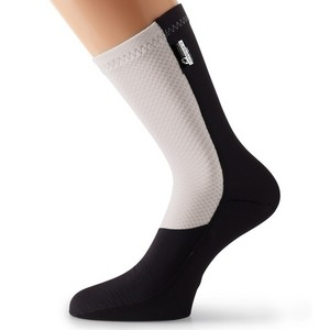 Assos FuguSpeer_S7 Winter Socks - Black/White