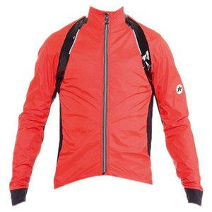 Assos rS.sturmPrinz Evo RainShell Jacket - Red/Orange
