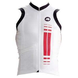 Assos NS.SuperLeggera Sleeveless Jersey - Red Swiss