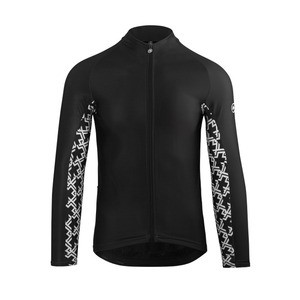 Assos MILLE GT Spring/Fall Long Sleeve Jersey - Black/White