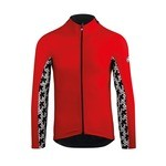 Assos MILLE GT Spring/Fall Long Sleeve Jersey - Black/Red