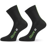 Assos RS Summer Socks - Data Green