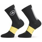 Assos Spring Fall Sock Black/Yellow