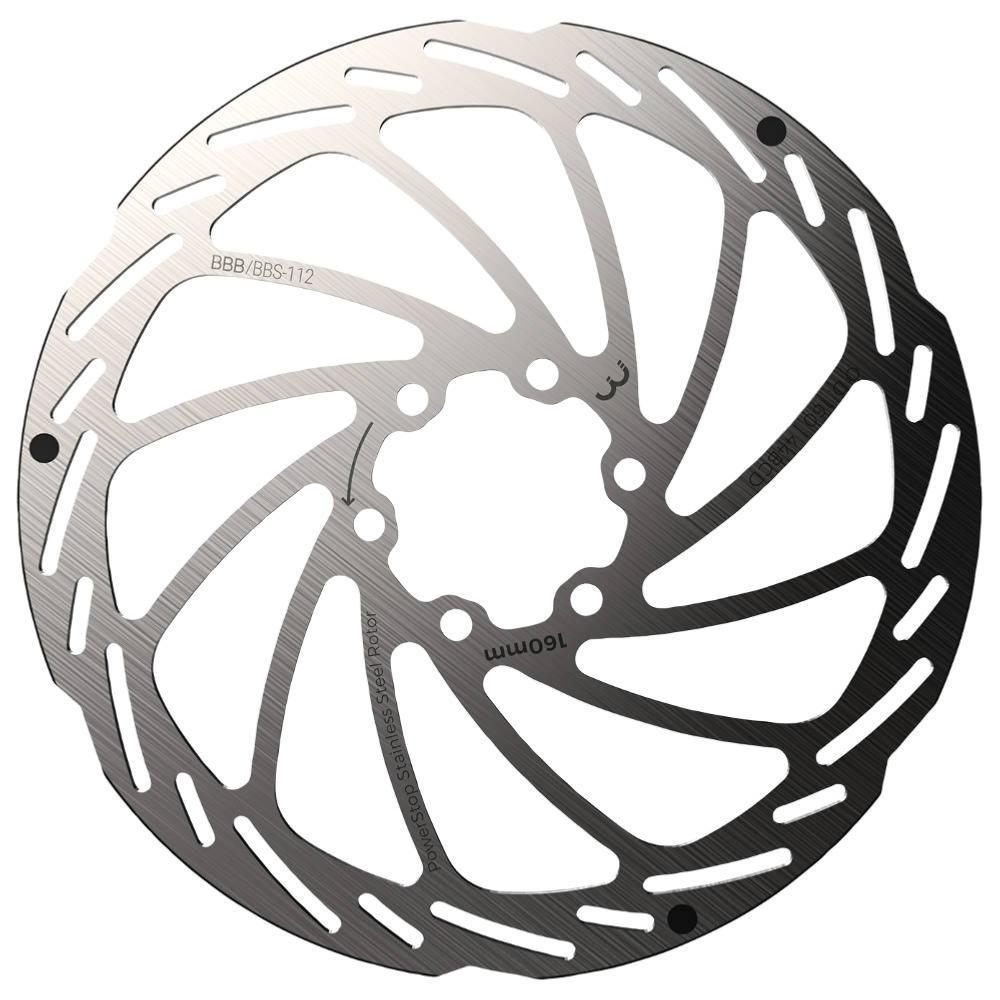 BBB Powerstop brake Rotor  - IS 6 Hole - 160 mm - BBS-112