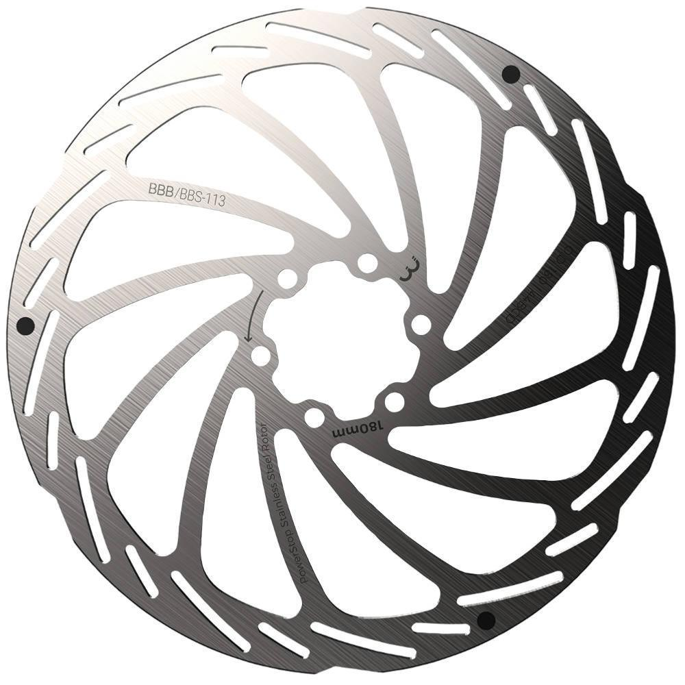 BBB Powerstop brake Rotor  - IS 6 Hole - 180 mm - BBS-113