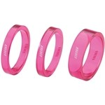 BBB Transspace BHP37 1' 1/8 ( 5 / 5 / 10) Spacer Set - Pink
