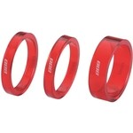 BBB Transspace BHP37 1' 1/8 ( 5 / 5 / 10) Spacer Set - Red