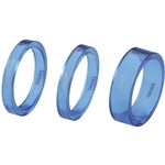 BBB Transspace BHP37 1' 1/8 ( 5 / 5 / 10) Spacer Set - Blue