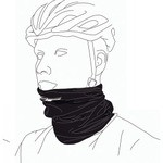 BBB Neck Warmer ComfortNeck - Black