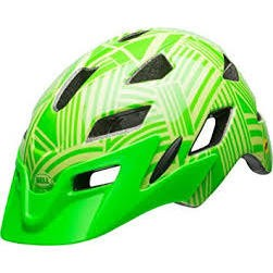 Bell Sidetrack Youth Helmet - Glossy Kryptonite/Retina