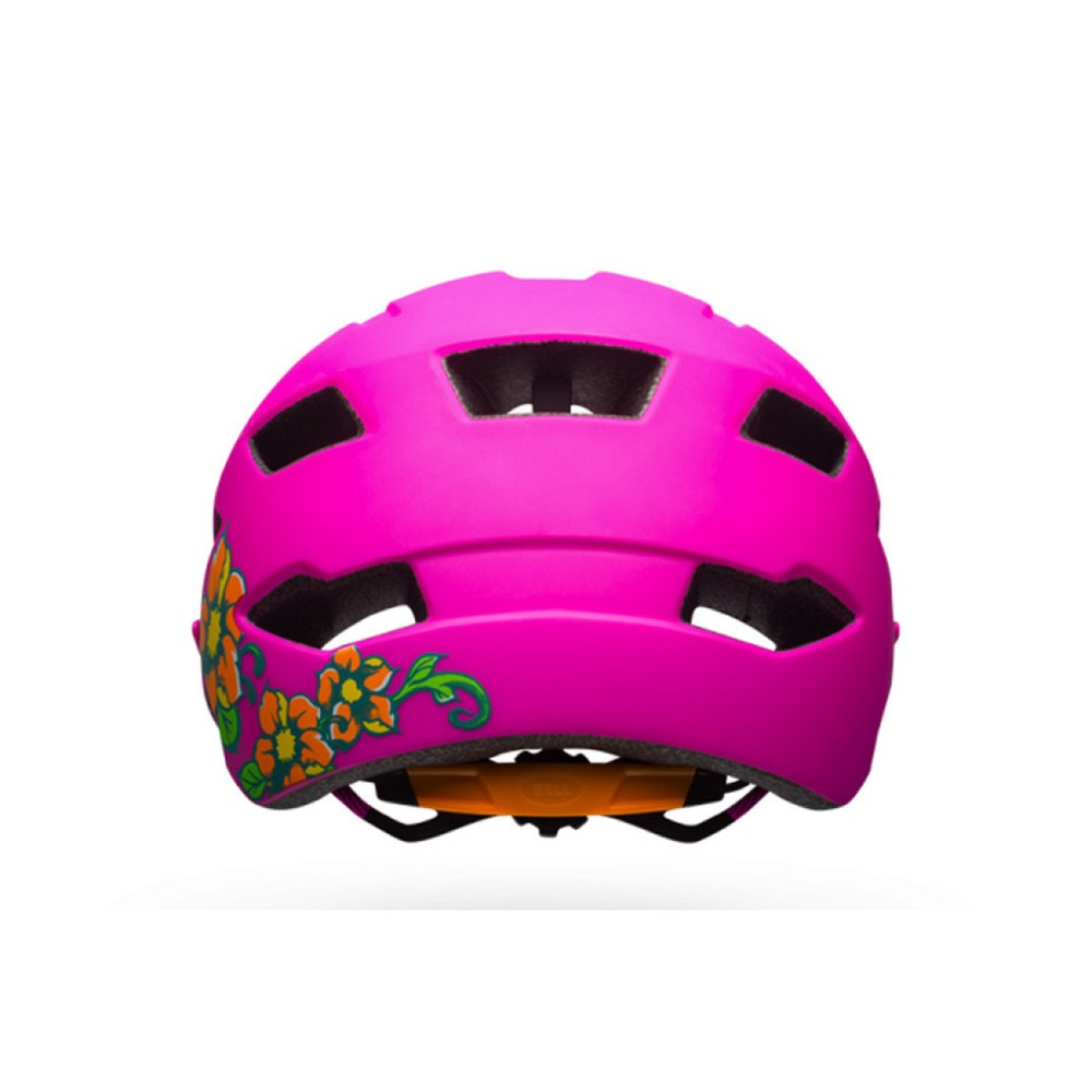 Bell Sidetrack Child Helmet - Matte Pink/Lime
