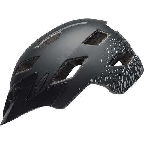 Bell Sidetrack Youth Helmet - Matte Black/Silver
