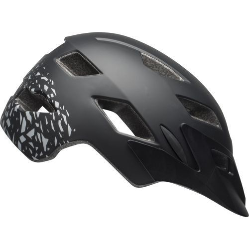 Bell Sidetrack Child Helmet - Matte Black/Silver
