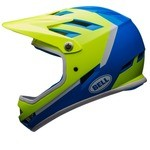 Bell Sanction Helmet - Force Blue/Retina