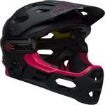 Bell Super 3R MIPS Helmet - Black/Cherry