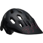 Bell Super 3 Helmet - Black/Cherry