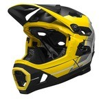 Bell Super DH MIPS Helmet - Yellow/Silver/Black