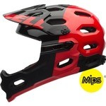 Bell Super 2R MIPS Helmet - Red/Black