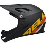 Bell Sanction Helmet - Matte Black/Yellow/Orange