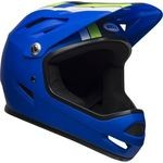 Bell Sanction Helmet - Matte Blue/Bright Green