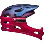 Bell Super 3R MIPS Women Helmet - Navy/Cherry